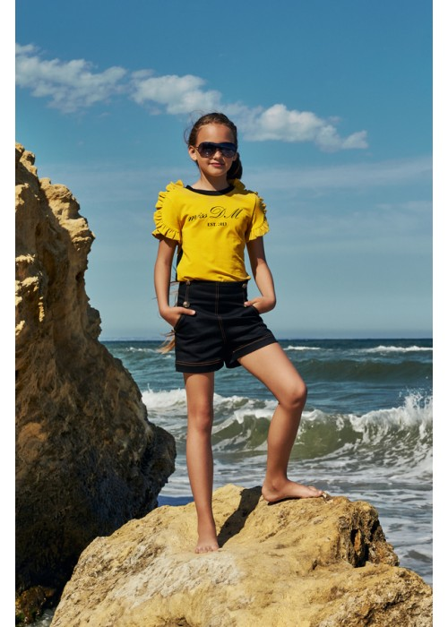 "T-shirt ""Vivienne"" yellow"