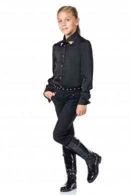 Брюки джинсовые черные