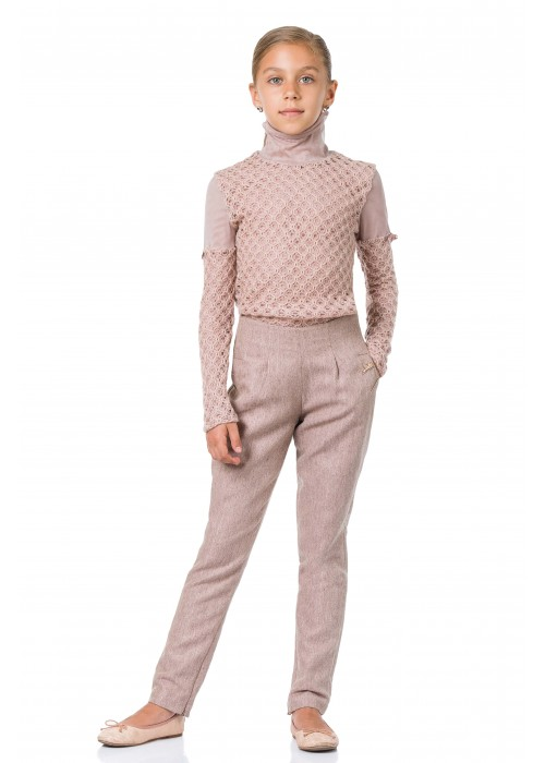 Pants jodhpurs pink powder