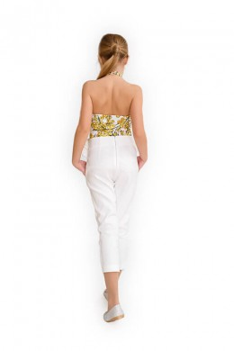 """Trousers """"Ylang"""" white"""