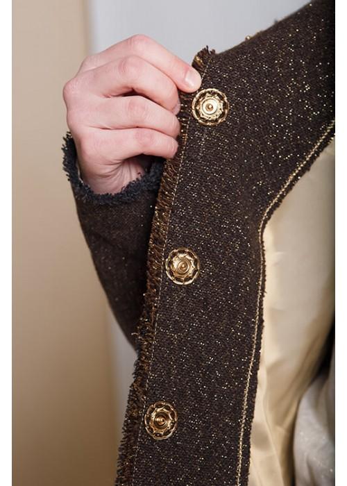 """Jacket """"Versailles"""" dark gold"""