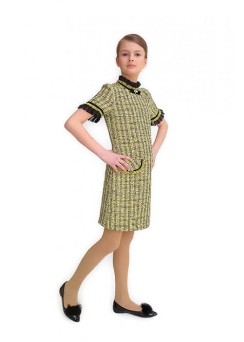 "Плаття CHANEL жовто-чорне S-551004 ""Success"""