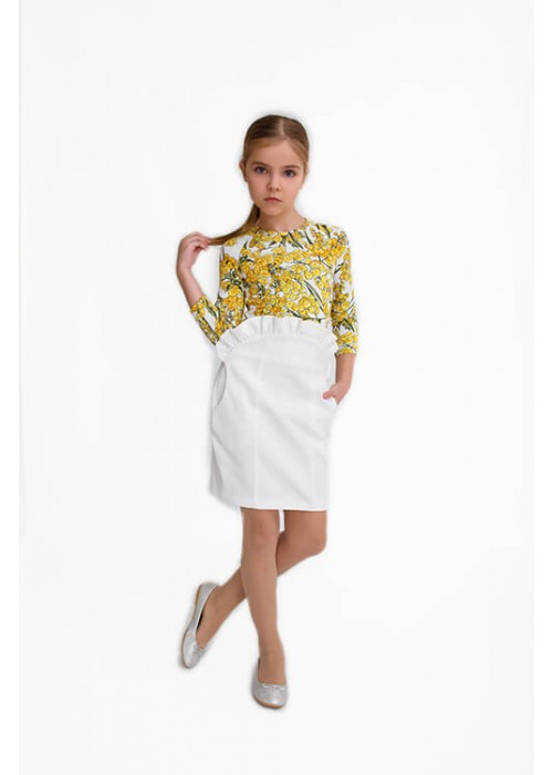 Блуза Джули белая