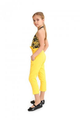 """Trousers """"Ylang"""" yellow"""