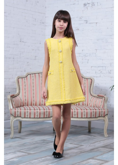 Dress CHANEL yellow