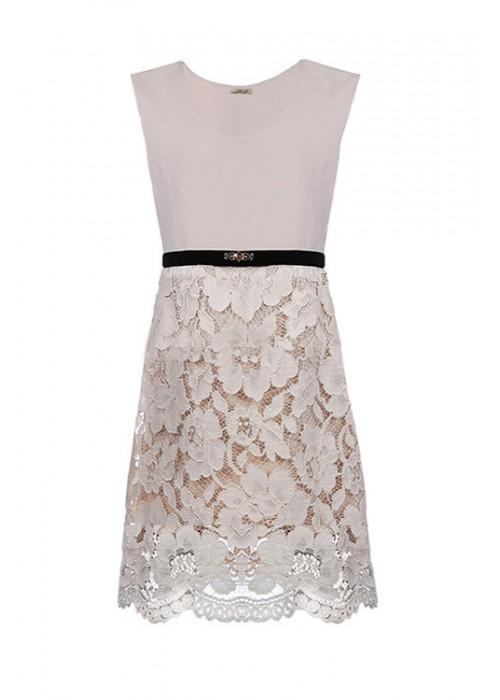 Dress from Lace Valentino cream