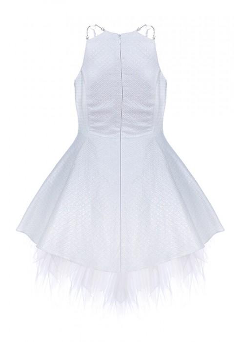 Jasmine dress short silver