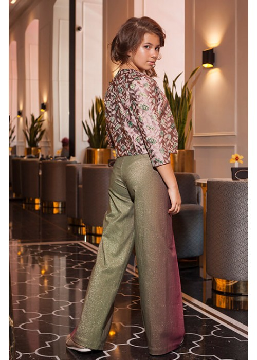 Trousers Glam pink