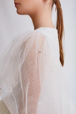 """Плаття """"Ельза"""" довге срібло ЗШ-551012ДС """"Золотий шик"""""""