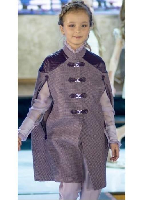 Cape Coat Purple