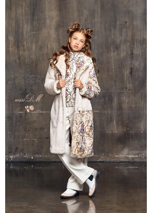 "fur coat ""Shiko"" milk"