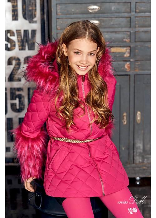 """Куртка """"Регина"""" рожева"""