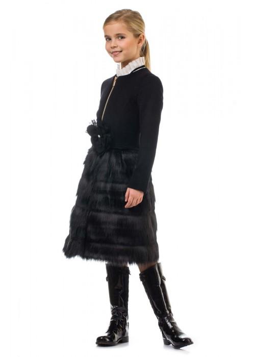 Пальто Богема черное