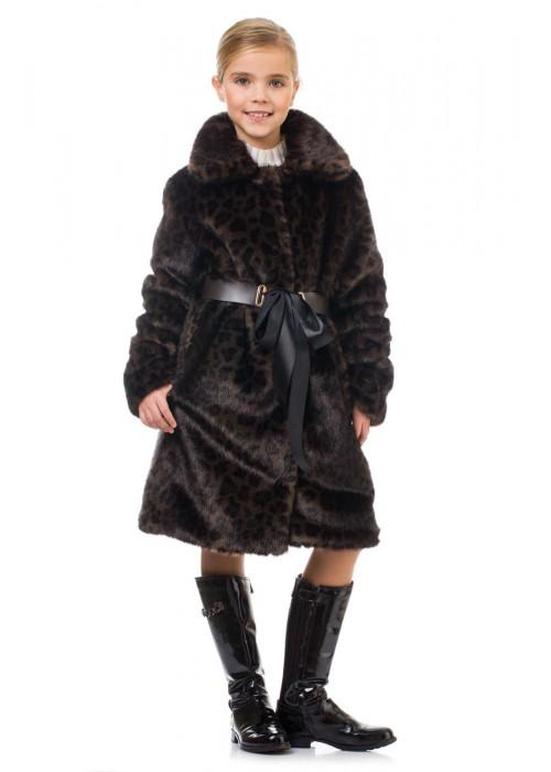 Fur coat Leopard