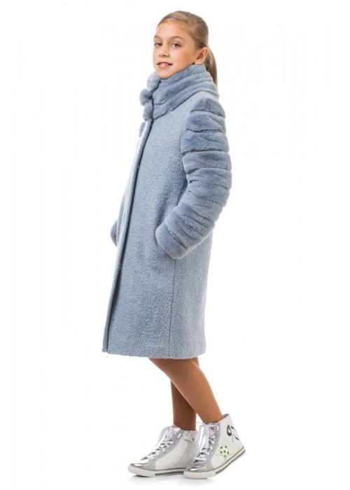 """Coat """"Harmony"""" blue"""