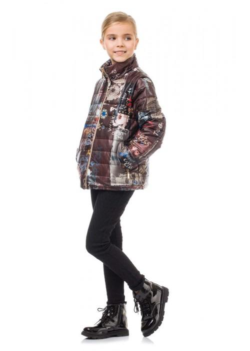 Jacket vest brown