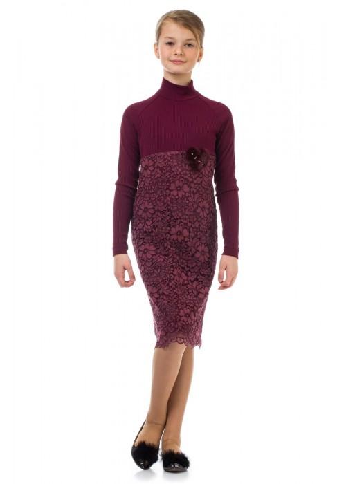 "Dress ""Grace"" burgundy"