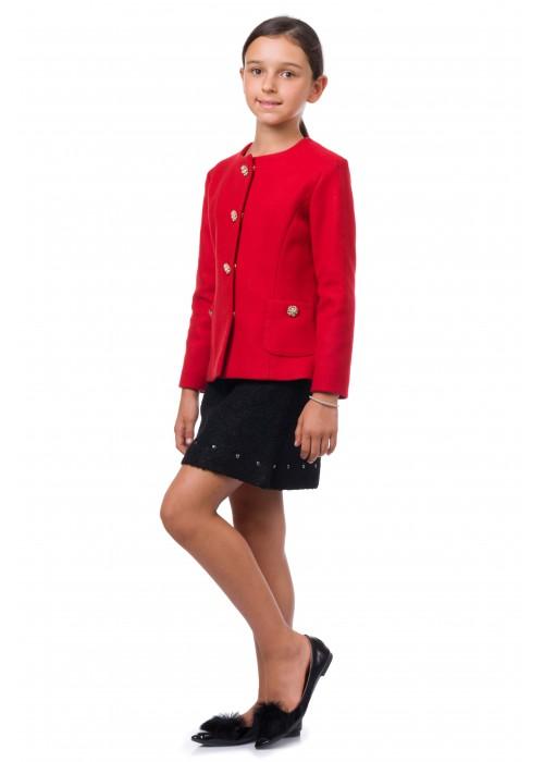 Пиджак красный ФС-1627 Флорентийская сказка
