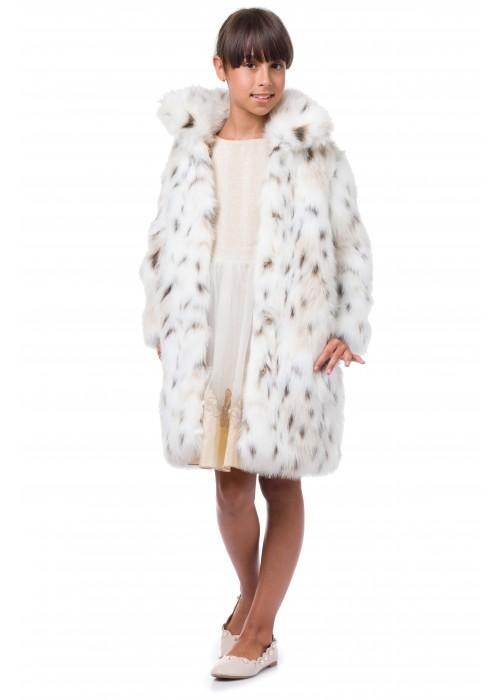 Fur coat Lynx