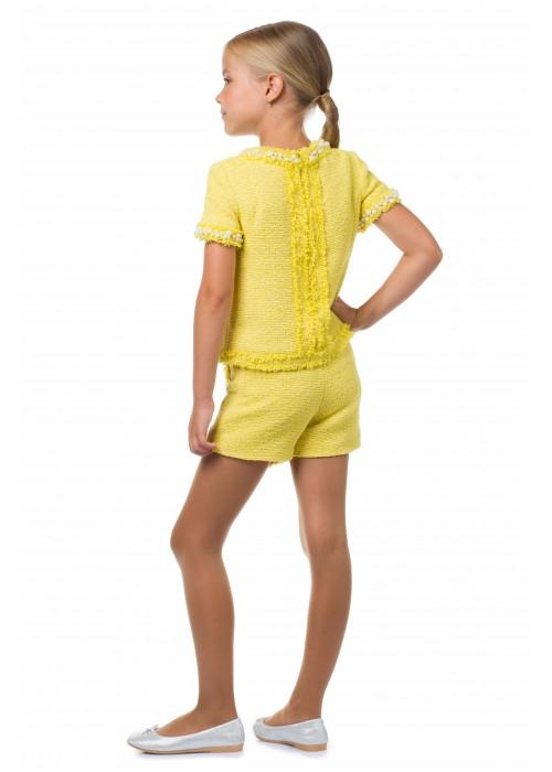 """Блуза """"CHANEL"""" желтая"""