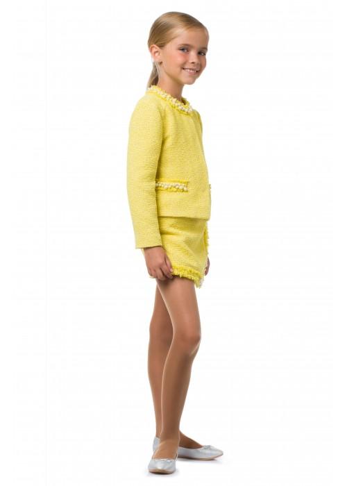 Жакет CHANEL желтый ВК-2033 Взрыв красок