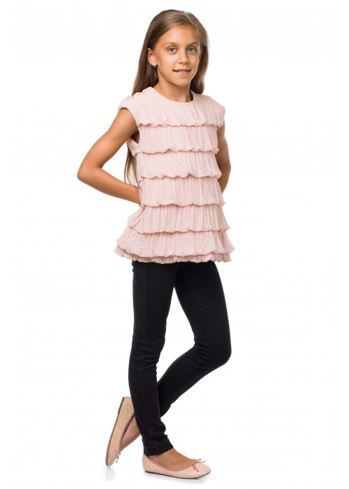 """Tunic """"Caramel"""" with bows"""
