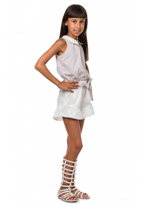 "Jumpsuit ""Moulin Rouge"" white"