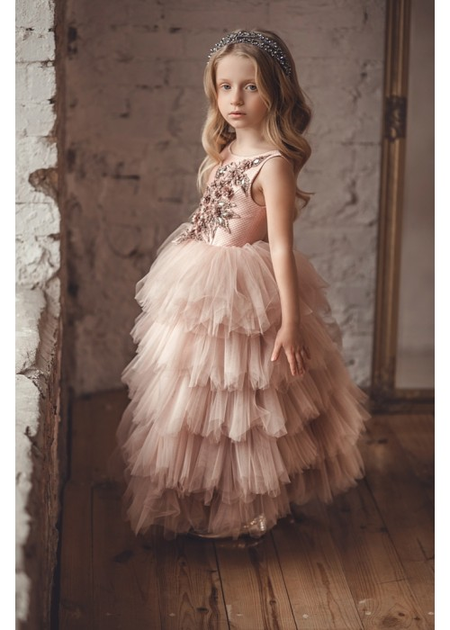 Dress  Jasmine long pink