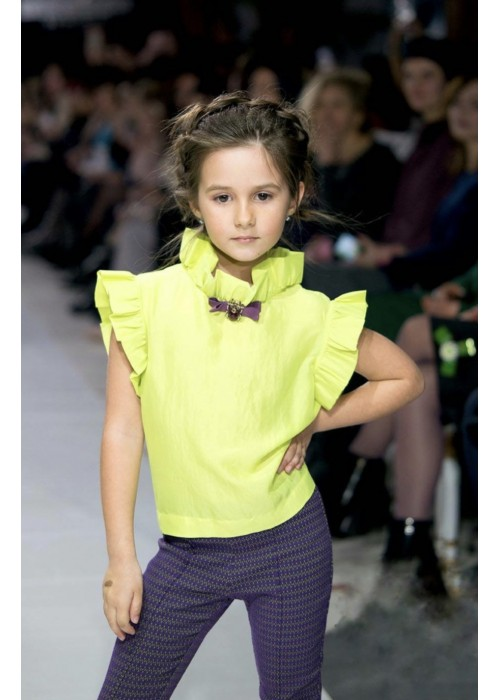 """Blouse """"Anabel"""" lime"""