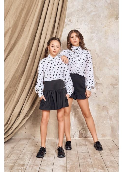 "Skirt-shorts ""Molly"" black"