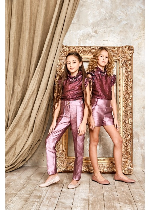 Trousers Jacquard Blumarin