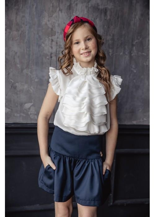 "Skirt-shorts ""Molly"" blue"