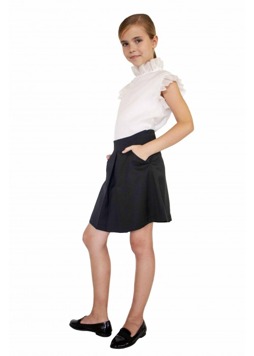 "Skirt ""Geometry"" black"