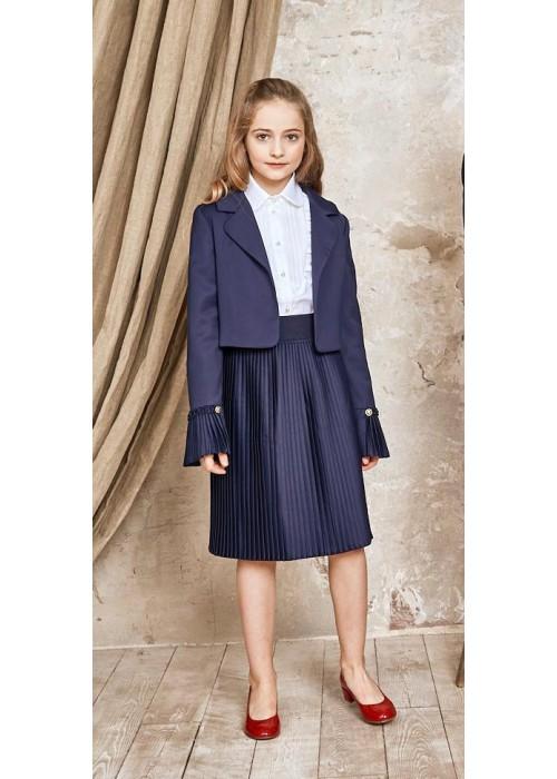 Skirt Pleated blue
