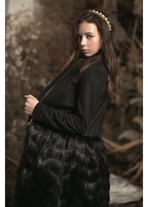 "Coat ""Bohemia"" black"
