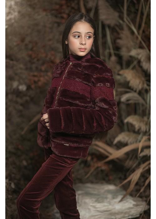 Erica jacket burgundy