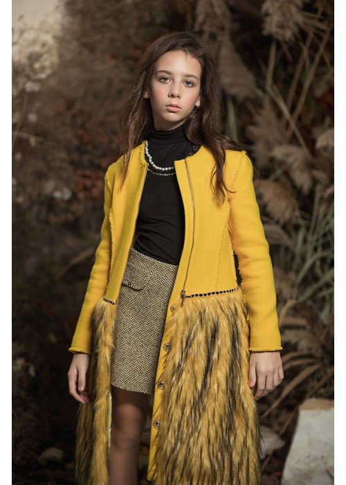 "Coat ""Bohemia"" yellow"