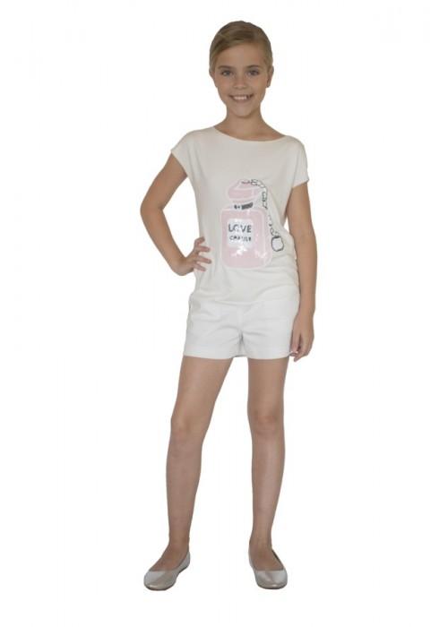 """T-shirt """"Bottle"""" white"""