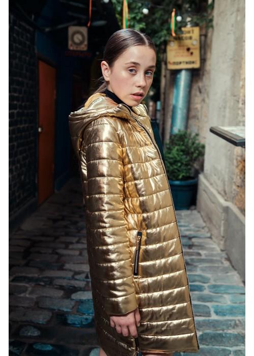 "Jacket ""Goldie"" long gold"