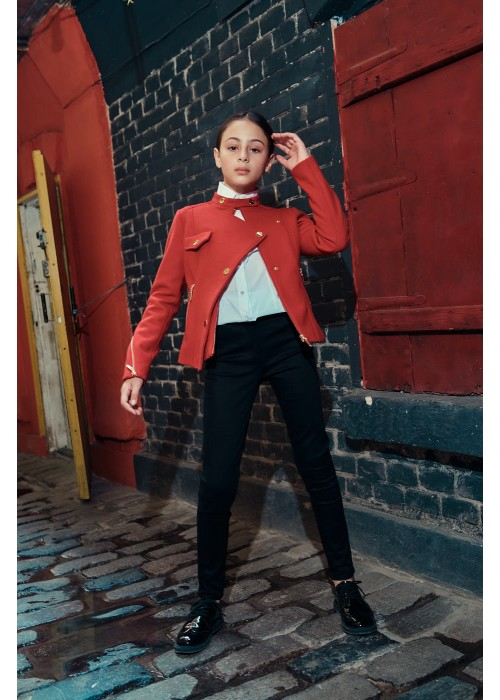 """Jacket """"Prague"""" red"""