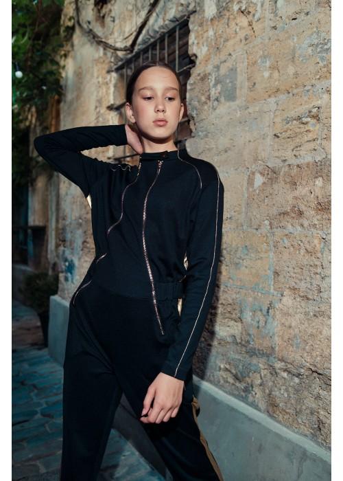 """Jumpsuit """"Ornella"""" black"""