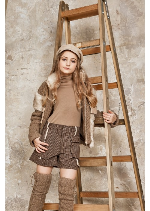 "Shorts ""Caramel"" cage brown"