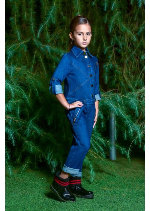 """Jumpsuit """"Catherine"""" jeans blue"""