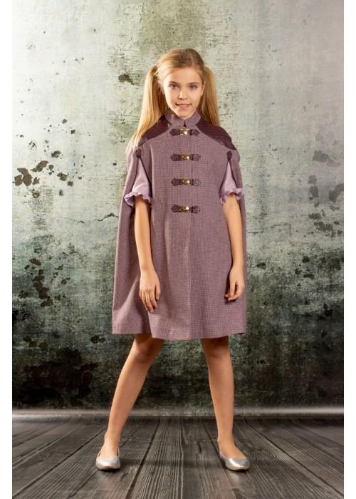 "Coat ""Cape"" purple"