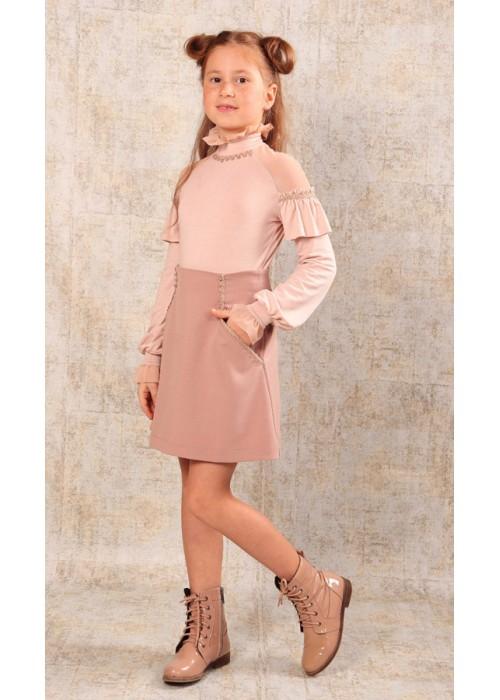 """Skirt """"Anette"""" light pink"""
