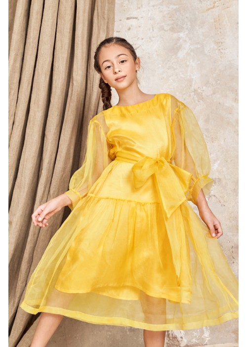 "Dress ""Amanda"" yellow"