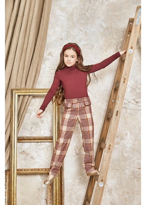 "Pants ""Edinburgh"" bordo"