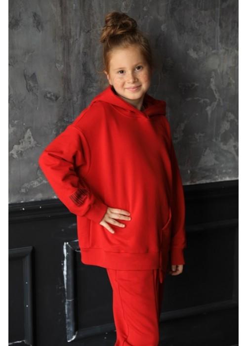 "Sweatshirt ""April"" red"