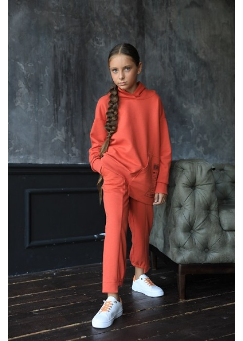 "Sweatshirt ""April"" terracotta"